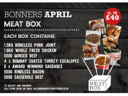 The nearly out of Lock down Meat Box