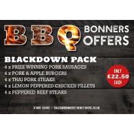 THe Black Down BBQ Pack