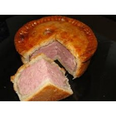 Family Home Made Pork Pie