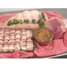 Christmas Meat Box no1 serves 4-6 £53.00