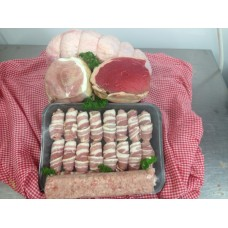 Chrismas  Meat Box No 2  (serves 8 to 10 )£69.00