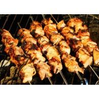 Chakalaka Chicken Skewers (South African Recipe)
