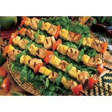 Chicken & Pepper Kebabs