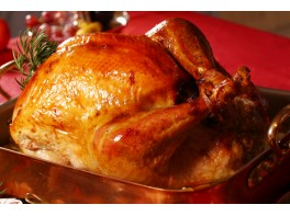 Barn Reared White Turkey weight range 4 to 7 kilos  at  £12.99 per kilo